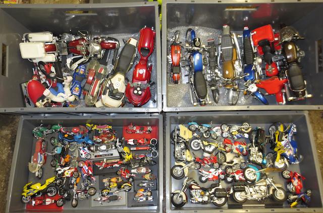 A quantity of motorcycle models,