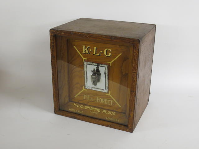 A KLG 'Fit and Forget' wooden cabinet,
