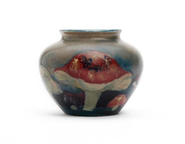 A Moorcroft 'Claremont' design vase Circa 1913