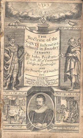 PRESTON (JOHN) The Doctrine of the Saints Infirmities