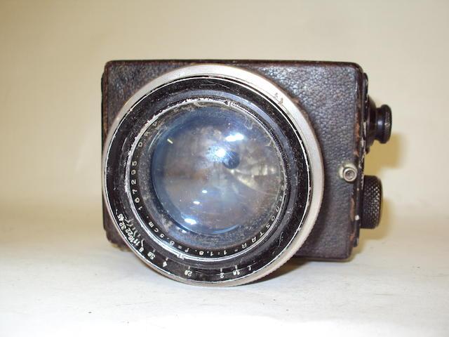 An Ernemann Anastigmat 'ERNOSTAR' camera