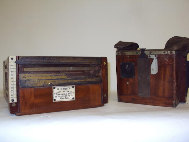 A George Hare's Patent Automatic Changing Box