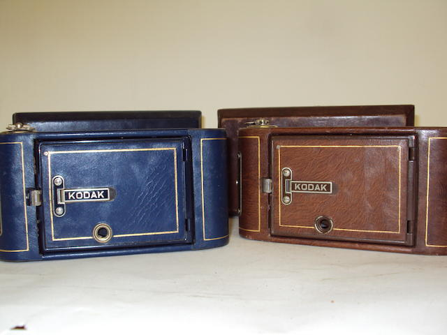 Two 'Vest Pocket' Kodak cameras