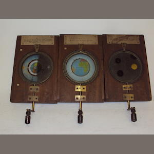 A collection of astronomical lantern slides