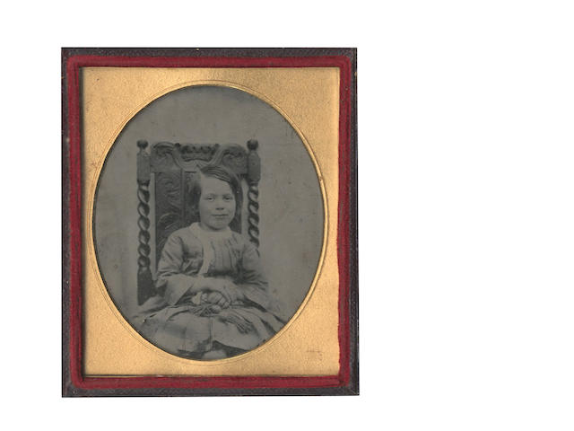 AMBROTYPES A collection of approximately 60 portraits, 1860s and later; including a cased stereviewer, several empty cases, a number of additional photographs and some photograghic competition medals (small quantity)