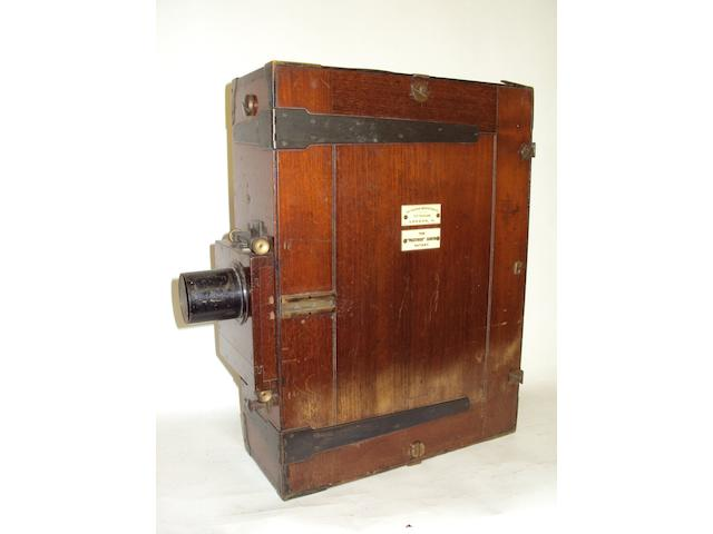 A Prestwich 35mm Cinematograph camera