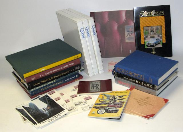 Assorted RR and Bentley reference books and periodicals