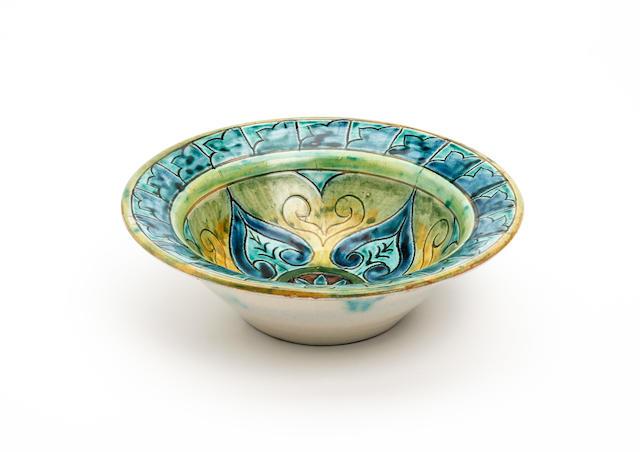 A Della Robbia bowl Circa 1900