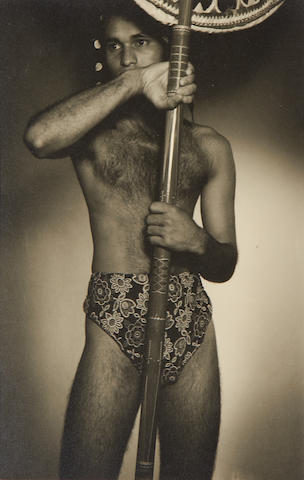 SRI LANKA WENDT (LIONEL) Two studies of Sri Lankan men, 1930s