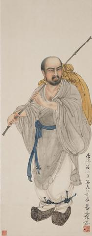 Deng Fen (1894-1964) Monk