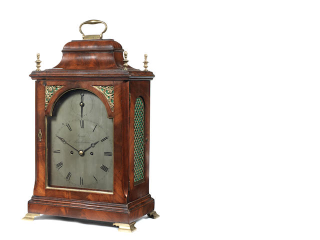 An S/S mantle clock by Winch Maidenhead
