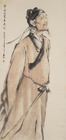 Jiang Zhaohe (1904-1986) The Poet Du Fu