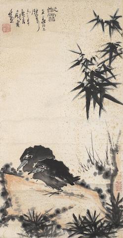Pan Tianshou (1897-1971) Before the Snow