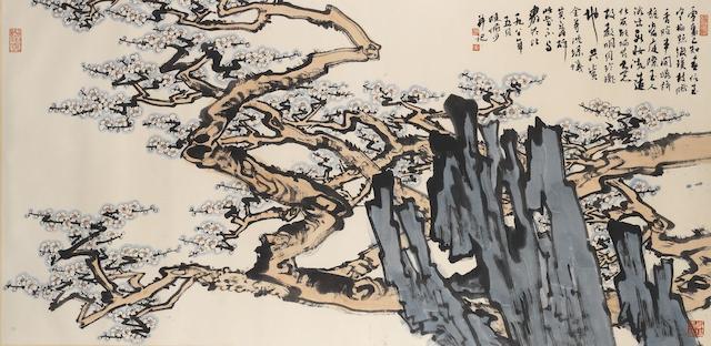 Lu Yanshao (1909-1993) Plum Blossoms