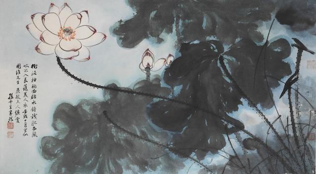 Sun Yunsheng (1918-2000) Lotus