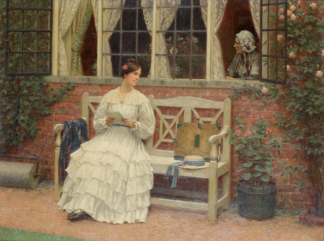 Edmund Blair Leighton, ROI (British, 1853-1922) The latest news