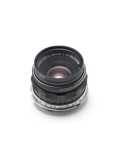 Canon 35mm f2  lens,