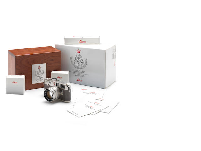 Leica M6 - Sultan of Brunei Commemorative edition,