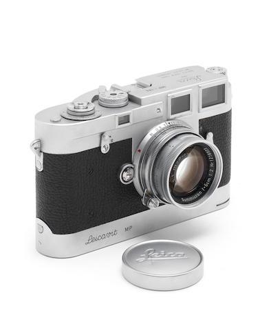 A rare Leica MP with matching Leicavit MP,