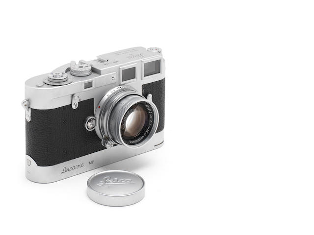 A rare Leica MP with matching Leicavit MP,