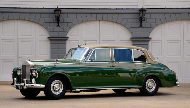 Ex-Sir Angus Ogilvy and HRH the Duke of Kent,1963 Rolls-Royce Phantom V Limousine  Chassis no. 5VA23 Engine no. A11PV