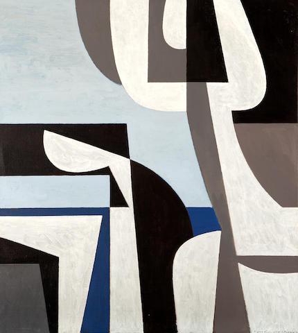 Yiannis Moralis (Greek, 1916-2009) Figurehead 100 x 89 cm.