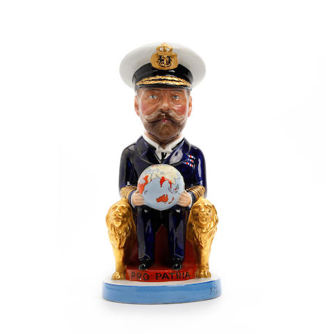 A Wilkinson Carruthers Gould 'King George V' character jug  Circa 1919