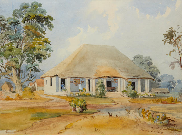 VP country thatched bungalow