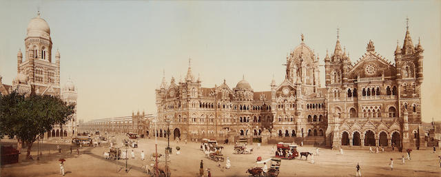 BOMBAY Bombay  Municipality and Victoria Terminus Station, c.1910