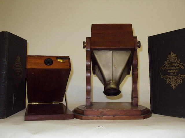 An Adams Pantascope viewer
