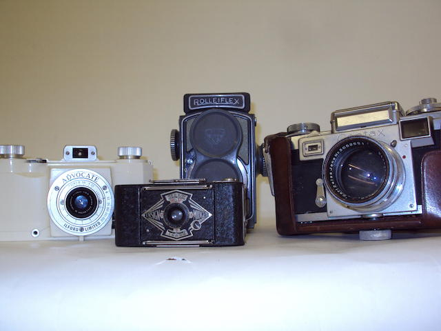A small collection of cameras