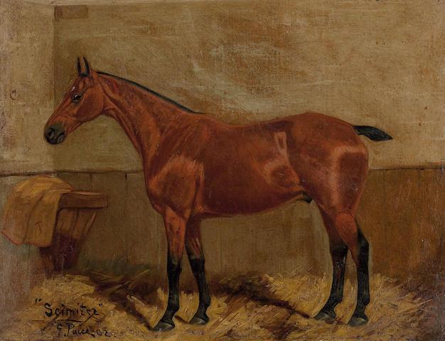 George Paice (British, 1854-1925) Scimiter