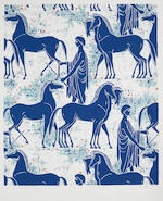 Tanya Atkinson An Extensive Portfolio of Original Textile Designs, Mid-Twentieth Century