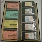 Stamps - a collection of booklets of stamps including Great Britain, Isle of Man, Channel Islands, Gibraltar, Malta, Sweden, in an album and a large collection of miniature sheets including Great Britain, Channel Islands, Isle of Man, Commonwealth and other countries in an album. (2)