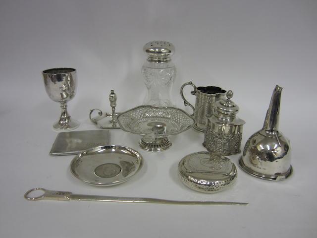A George III silver ring-handle skewer London 1812  (12)