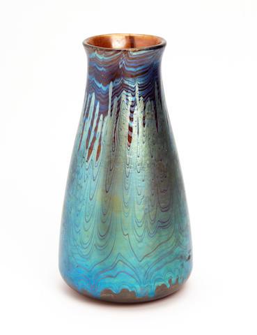 A Loetz iridescent glass Circa 1900-1910