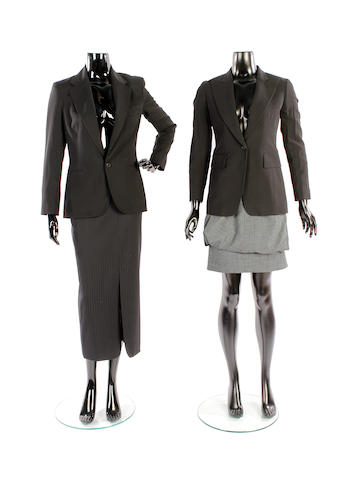 A group of designer office wear