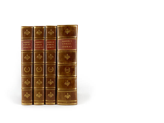 DANIEL (WILLIAM BARKER) Rural Sports, 4 vol. (including Supplement), 4to, 1807-1813