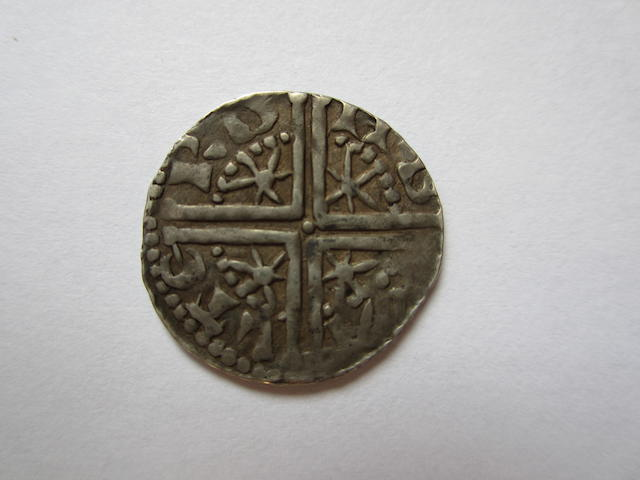 Alexander III (1249-1286), first coinage, long cross and star, 1250-c.1280, 1.38g, Penny, Type III, small head left with neat crown,