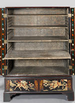 The Bury Hill Cabinets Two George III coromandel lacquer cabinets, incorporating 17th century panels