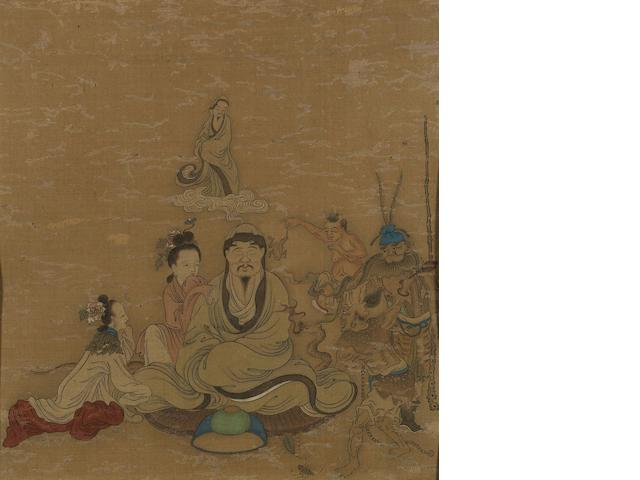 Anonymous (Ming Dynasty)  Samadhi
