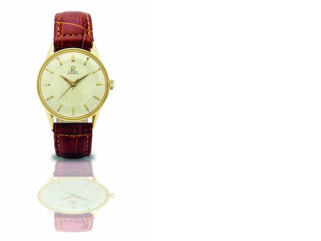 Omega. A fine and rare 14ct gold automatic wristwatch Ref:GX6552, Case No.58709, Movement No.14647161, Circa 1955