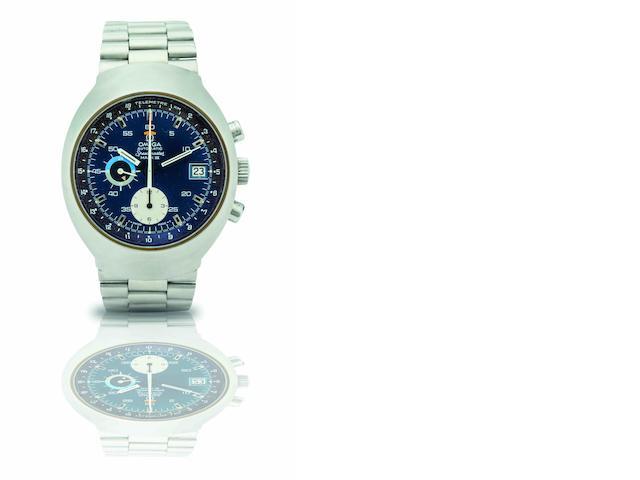 Omega. A stainless steel automatic chronograph bracelet watchSpeedmaster Mark III, Ref:176.002, Circa 1970s