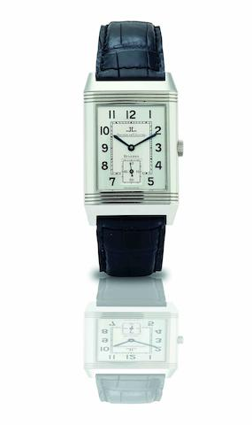 Jaeger-LeCoultre. A fine and rare limited edition stainless steel manual wind reversible wristwatchReverso Greater China, Ref:270.840.622B, No.56/97, Made in 1997