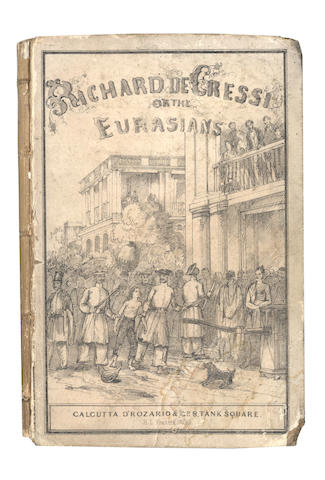 [MORRISON (M.B.)]  Richard de Cressi, or the Eurasians, Calcutta, 1861, and 3 others (4)