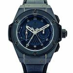 Hublot. A fine and rare limited edition ceramic split-second chronograph automatic wristwatch Big Bang King Power Chronograph, Ref:715.CI.1110.RX, Limited Edition No.111/500, Recent
