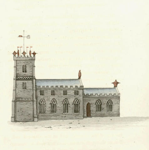 CHURCH ARCHITECTURE Hints to Church Wardens, with a Few Illustrations, Relative to the Repair and Improvement of Parish Churches, 1825