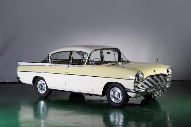 1962 Vauxhall Cresta Saloon  Chassis no. S2/RADX181465 Engine no. PAX/181623
