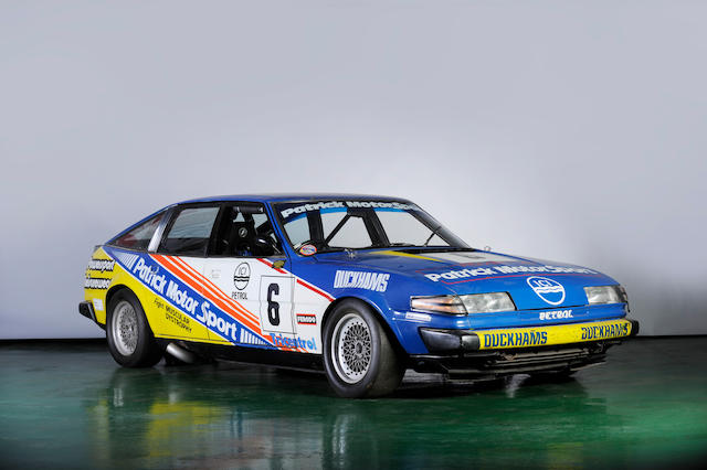 The ex-Patrick Motorsport,1980 Rover 3500 (SD1) Group 1 Racing Saloon  Chassis no. not noted