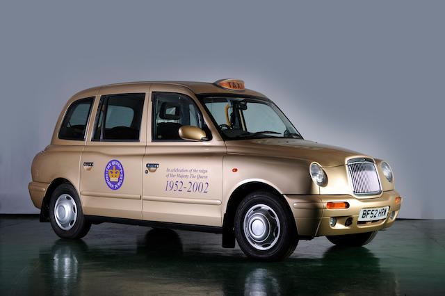2002 LTI Taxi 2.4 Diesel Jubilee Gold